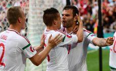 ההונגרים חוגגים את השוויון. הם כנראה בשלב הבא צילום(צילום: AFP)