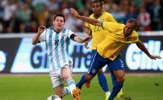 מסי מול ברזיל צילום(צילום: gettyimages)