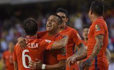 צ'ילה חוגגת. שני ניצחונות מרשימים בשלבי הנוקאאוט צילום(צילום: AFP)