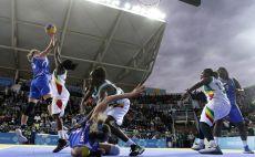 כדורסל 3X3 צילום(AFP)