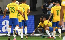 שחקני נבחרת ברזיל צילום(AFP)