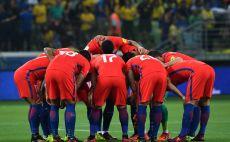 שחקני נבחרת צ'ילה צילום(AFP)