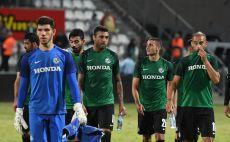 שחקני מכבי חיפה מאוכזבים בסיום צילום(צילום: סוכנות ג'יני)