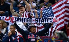 אוהדי נבחרת ארצות הברית צילום(AFP)