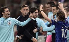 שחקני נבחרת קרואטיה צילום(AFP)