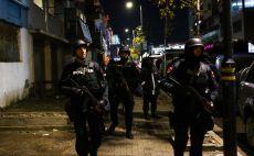 משטרת אלבניה מאבטחת את ישראל צילום(אודי ציטיאט)
