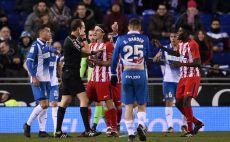 אספניול נגד אתלטיקו מדריד צילום(AFP)