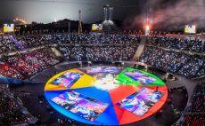 טקס הנעילה של אולימפיאדת החורף צילום(AFP)