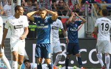 שחקני המבורג מאוכזבים צילום(AFP)