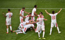 נבחרת סרביה צילום(AFP)