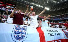 אוהדי נבחרת אנגליה צילום(Gettyimages)