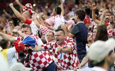 אוהדי נבחרת קרואטיה צילום(Gettyimages)