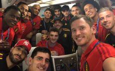 נבחרת בלגיה צילום(טוויטר)