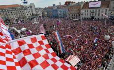 אוהדי נבחרת קרואטיה צילום(AFP)