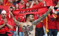 אוהד נבחרת אלבניה צילום(Gettyimages)