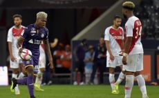 שחקני מונאקו מאוכזבים צילום(AFP)