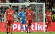 שחקני ריאל מדריד מאוכזבים צילום(AFP)