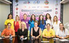 קפטניות כדורסל נשים צילום(עודד קרני)