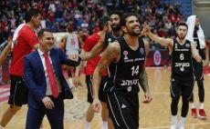 שחקני הפועל ירושלים חוגגים צילום(FIBA)