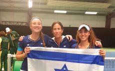 נבחרת הפדרציה של ישראל צילום(איגוד הטניס)