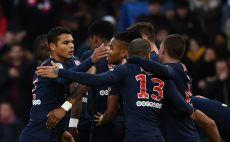 שחקני פאריס סן ז'רמן חוגגים צילום(AFP)