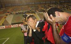 גוטמן ובאדיר לא יכולים לעצור את הדמעות צילום(אדי ישראל)