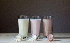 שייק חלבון צילום(Shutterstock)