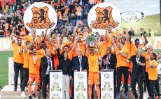 בני יהודה מחזיקת גביע המדינה 2019 צילום(מאור אלקסלסי)