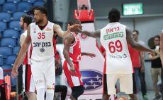 הפועל ירושלים בכדורסל צילום(דני מרון)