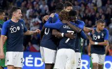 שחקני נבחרת צרפת חוגגים צילום(Gettyimages)