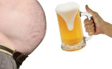 כרס בירה צילום(shutterstoc)