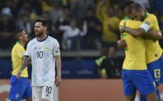 ליאו מסי מאוכזב צילום( DOUGLAS MAGNO/AFP/Getty Images)