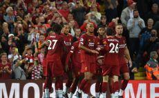 שחקני ליברפול חוגגים צילום(OLI SCARFF/AFP/Getty Images)