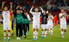 שחקני פורטוגל חוגגים צילום( PEDJA MILOSAVLJEVIC/AFP/Getty Images)
