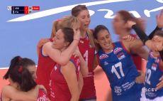 נבחרת סרביה נשים כדורעף צילום(מסך)