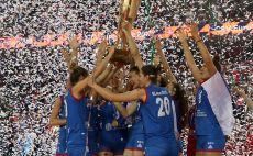 סרביה אלופת אירופה לנשים בכדורעף צילום(GettyImages)