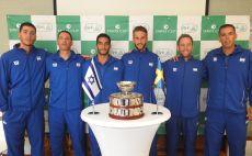 נבחרת הדייויס בשבדיה צילום(לידור גולדברג, איגוד הטניס)
