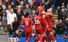 שחקני ליברפול חוגגים צילום(OLLY GREENWOOD/AFP/Getty Images)