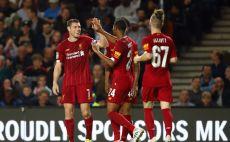 שחקני ליברפול חוגגים צילום(Julian Finney/Getty Images)