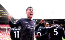 שחקני ליברפול חוגגים צילום(Laurence Griffiths/Getty Images)