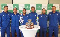 נבחרת הדייויס צילום(באדיבות איגוד הטניס)