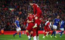 שחקני ליברפול חוגגים צילום(Clive Brunskill/Getty Images)