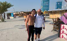 יובל ספרא, אנדריי טוט צילום(באדיבות הוועד האולימפי בישראל)