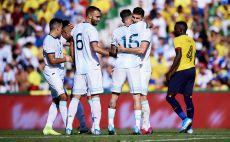 שחקני ארגנטינה חוגגים צילום(Quality Sport Images/Getty Images)