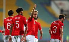שחקני נבחרת אנגליה חוגגים צילום(Catherine Ivill/Getty Images)