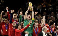 נבחרת ספרד זוכה במונדיאל צילום( JAVIER SORIANO/AFP/Getty Images)
