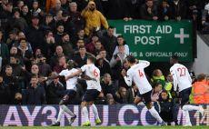 שחקני ליברפול חוגגים צילום( Laurence Griffiths/Getty Images)