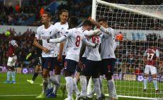 שחקני ליברפול חוגגים צילום(GEOFF CADDICK/AFP via Getty Images)