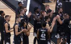 פרטיזן בלגר כדורסל 2019/20 צילום(מסך)