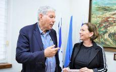 יואב כץ, עינת קליש-רותם צילום(דוברות עיריית חיפה)